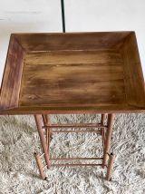 Table d'appoint style éthnique