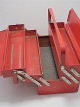 Caisse à outils en métal