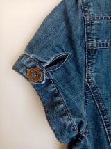 Robe en jeans à manches courtes, taille S ou M
