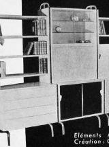 Secrétaire moderniste par R. Charroy pour Mobilor  – 60's