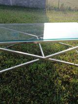 table basse verre john lewis alice coffee table134x h44x70
