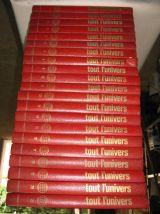 lot de 21 volumes Tout l'univers