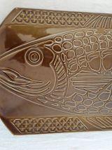 Ancien plat à poisson