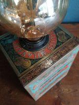 """Lampe vintage lampe de table lampe de bureau métal """"Scapini"""""""