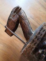 Boite rituelle à tête de cheval Aduno Koro - Dogon - Mali