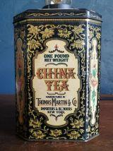 """Lampe vintage lampe de table lampe bureau métal """"China Tea"""""""