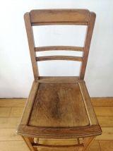 Chaise époque Art Déco - Siège de vestibule Années 30-40  --