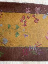 Tapis ancien Chinois Art Deco fait main, 1B873