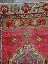 Tapis ancien Turc Anatolian fait main, 1B28