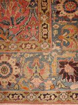 Tapis ancien Indien Loristan fait main, 1B143