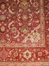 Tapis ancien Indien Amritsar fait main, 1B147