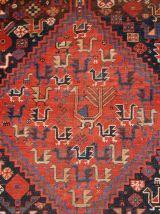 Tapis ancien Persan Khamseh fait main, 1B193