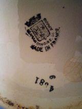une ancienne cruche, bros à eau année 1930
