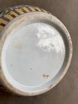 Grand pot couvert asiatique