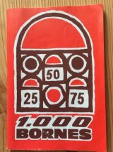 Mille 1000 bornes jeu vintage 1960