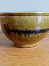 Saladier grand bol en céramique émaillée