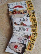 Lot magazines l'écho des savanes 2009 à 2015