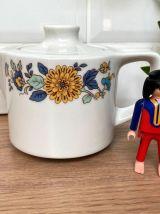 Théière individuelle en porcelaine