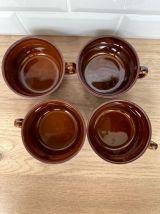 Set de 4 tasses bistrot