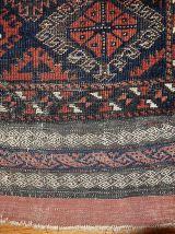 Tapis ancien Afghan Baluch fait main, 1B326