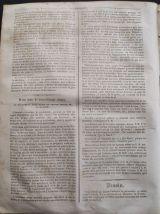 1833 Honoré DAUMIER -LE CHARIVARI - 22000 Francs D'AMENDE