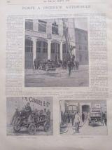 1898 Revue sportive LA VIE AU GRAND AIR N° 18 - BOXE POMPIER
