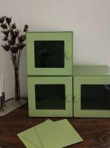 Série de 2 meubles casier