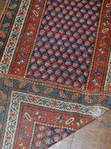 Tapis ancien Caucasien Gendje fait main, 1B475