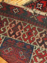 Tapis ancien Afghan Baluch fait main, 1B486