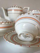 service à café 17 pièces porcelaine anglaise Myott