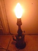 Lampe de sureté electrifiée Besnard Paris