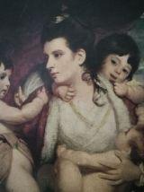 Petit cadre '' La mère et ses trois enfants