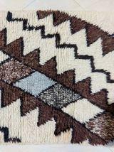 110x80cm Tapis berbere marocain