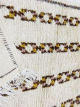 130x76cm Tapis berbere marocain