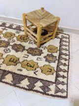 134x90cm Tapis berbere marocain