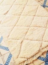 190x108cm tapis berbere marocain