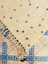 250x135cm Tapis berbere marocain