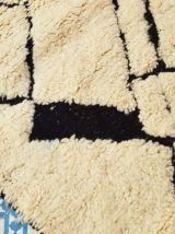 243x157cm Tapis berbere marocain