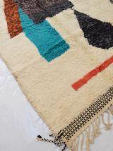 246x153cm Tapis berbere marocain