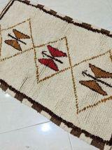 114x68cm tapis berbere marocain
