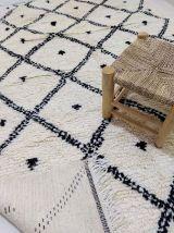 242x147cm tapis berbere marocain