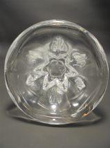 Vase en cristal signé Val St Lambert