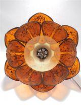 Suspension vintage en forme de fleur