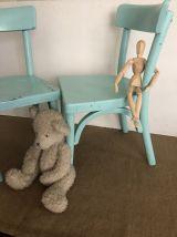 Paire de chaises d'enfant, vintage