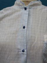 robe pyjama nuisette carreaux  année 60-70