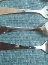 12 fourchettes a huitres, vintage