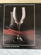 Verres cristal d'arques vintage