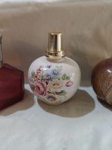 LOT 4 lampes berger anciennes en ceramique