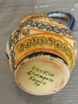 Petite Carafe Henriot Quimper