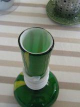 Vase Vintage verre de Murano style art déco